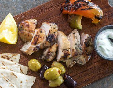 Chicken Thigh Greek